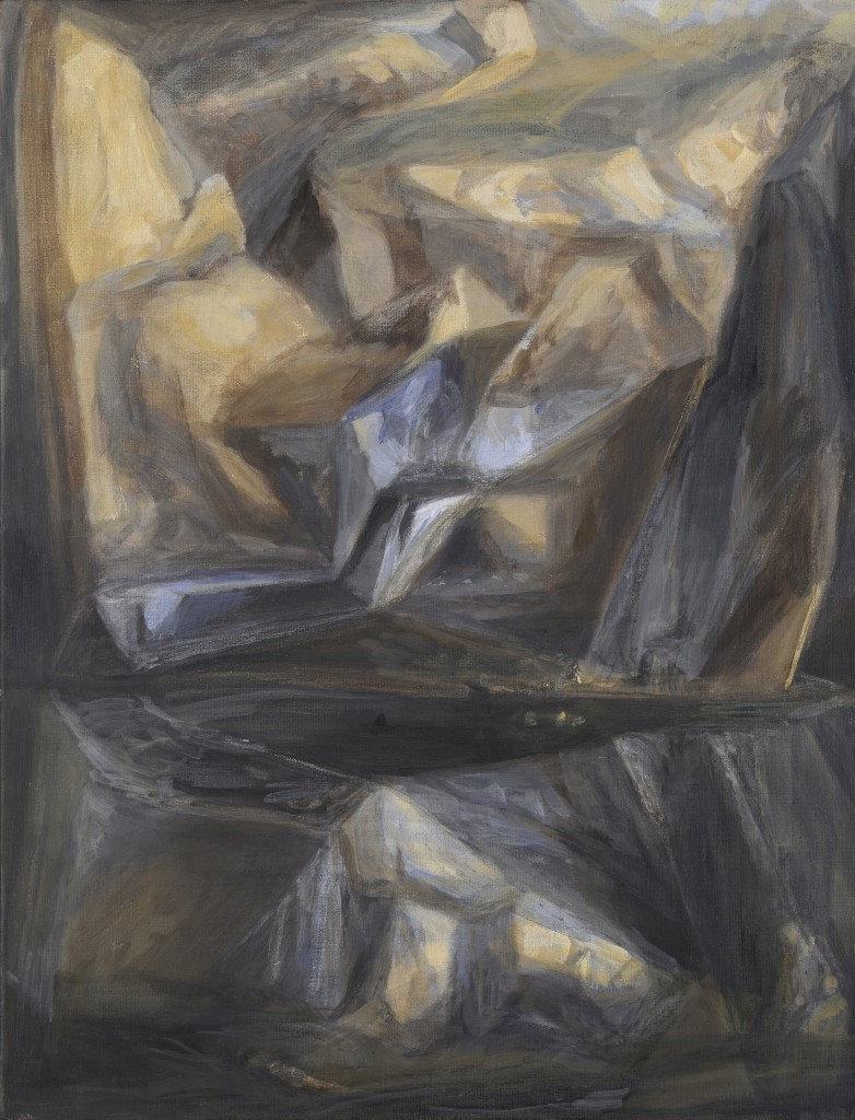 n°19 Paysage - Huile sur toile - 65 x 50 - 2012