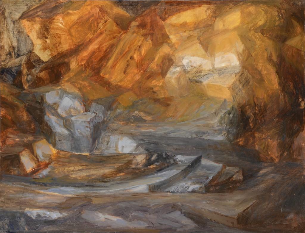 n°10 Paysage - Huile - 65 x 50 - 2012
