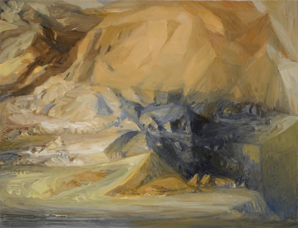 n°5 Paysage - Huile - 65 x 50 - 2012