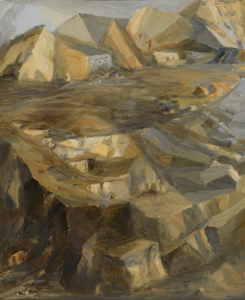 Paysage - Huile - 46 x 38 - 2012