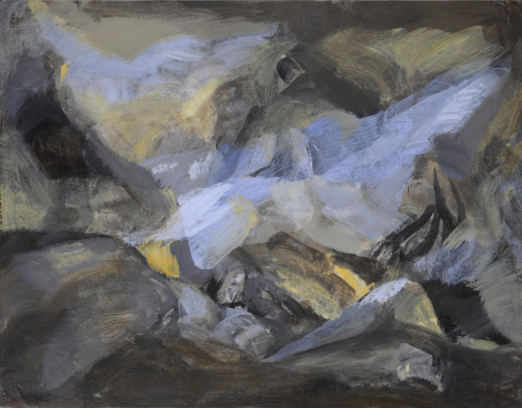 n°11 - Paysage - Acrylique - 43.5 x 34 -2012
