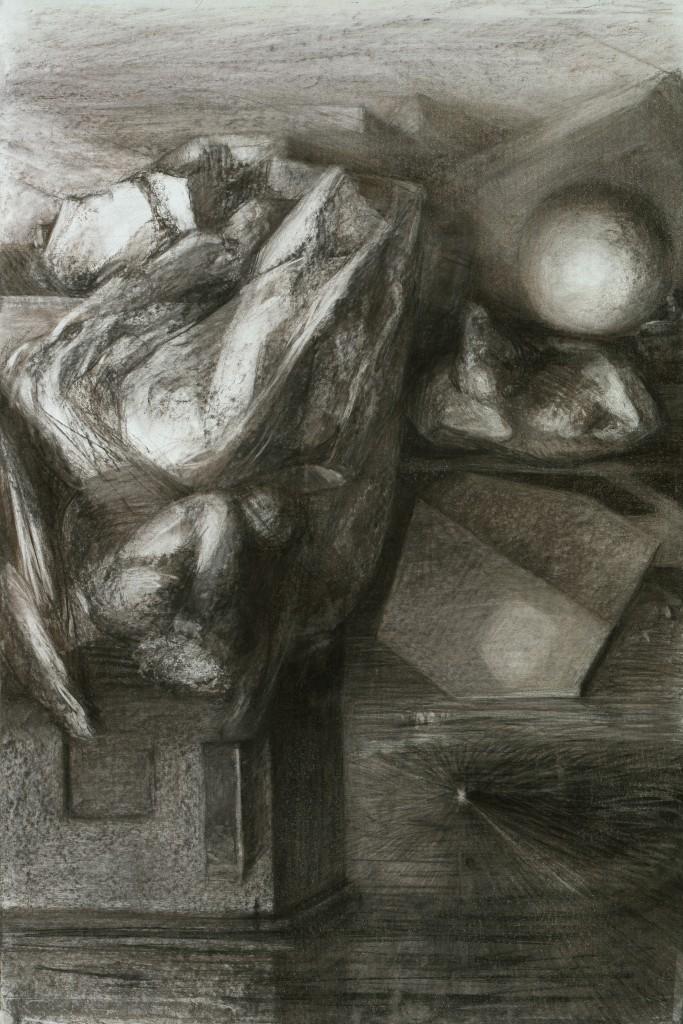 Mélancolie réversible - D'après Dürer