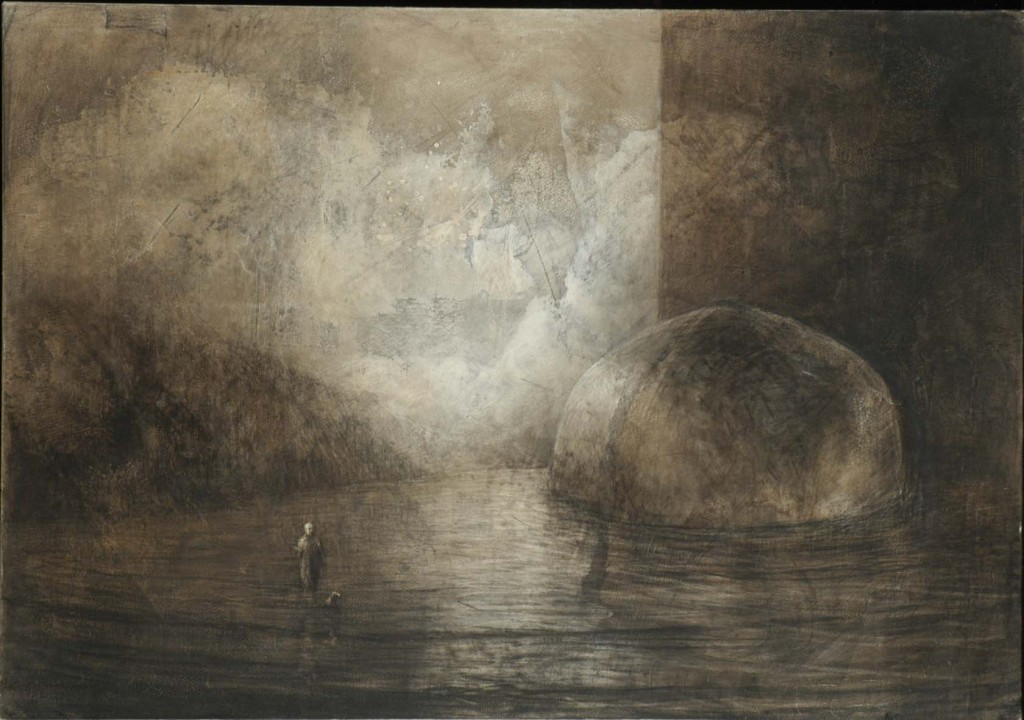 Au-delà - Paysage - 65 x 93 - 2005 - Col. part.