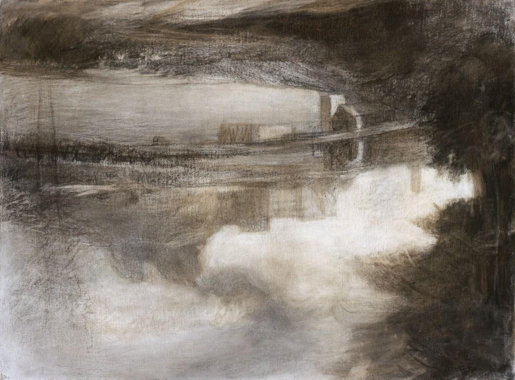 Temps calme - D'après Nicolas Poussin - 60 x 81 - 2006 - Col. part.